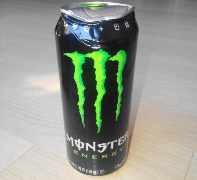Energy Drink Korea Monster Energy Green Can