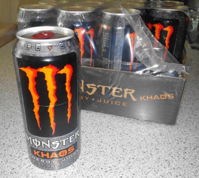 Energy Drink Korea Monster Khaos